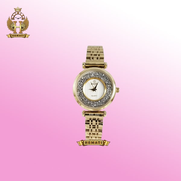 خرید آنلاین ساعت داتیس زنانه DATIS D8374L طلایی
