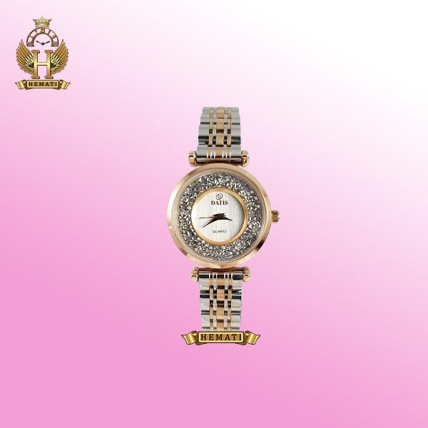 ساعت زنانه داتیس مدل D8374L به رنگ نقره ای-رزگلد اورجینال