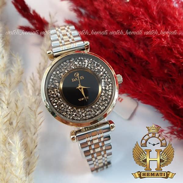 خرید ساعت زنانه داتیس مدل DATIS D8374DL نقره ای طلایی