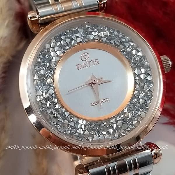 قیمت ساعت زنانه داتیس مدل DATIS D8374DL در رنگبندی
