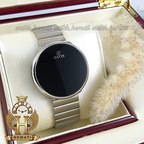 خرید ساعت اسپرت LED ال ای دی داتیس مدل Datis D8384G نقره ای اورجینال صفحه لمسی