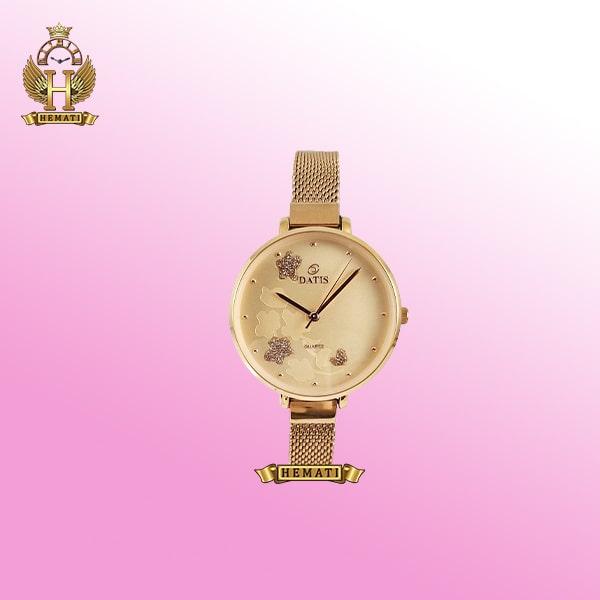 خرید ساعت زنانه داتیس مدل DATIS D8409L رزگلد اورجینال