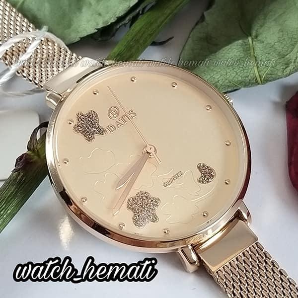 قیمت ساعت زنانه داتیس مدل DATIS D8409L رزگلد