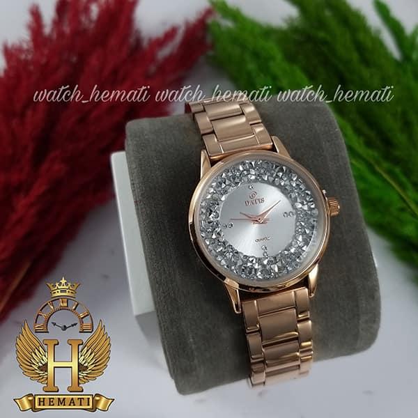 قیمت ساعت زنانه داتیس مدل DATIS D8417CL رزگلد