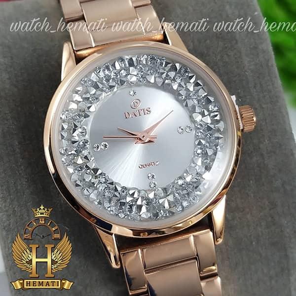 خرید انلاین ساعت زنانه اورجینال داتیس مدل DATIS D8417CL رزگلد