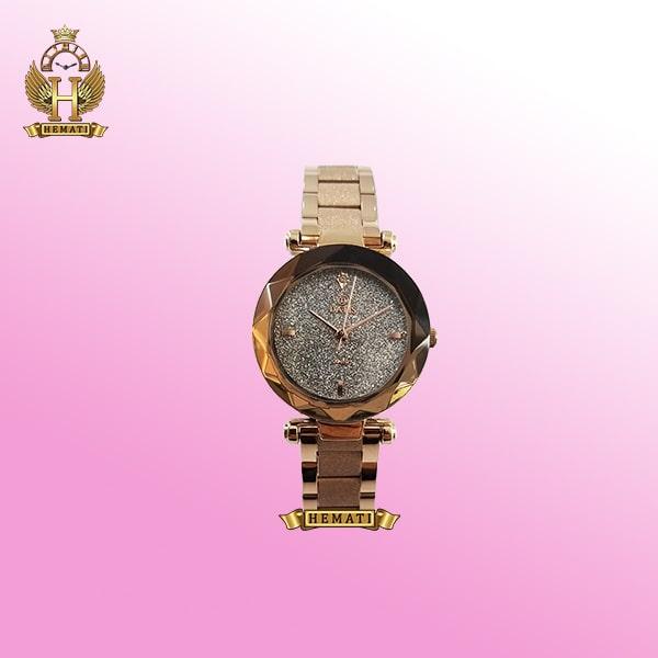 خرید ساعت زنانه داتیس مدل D8435EL طلایی صفحه شنی