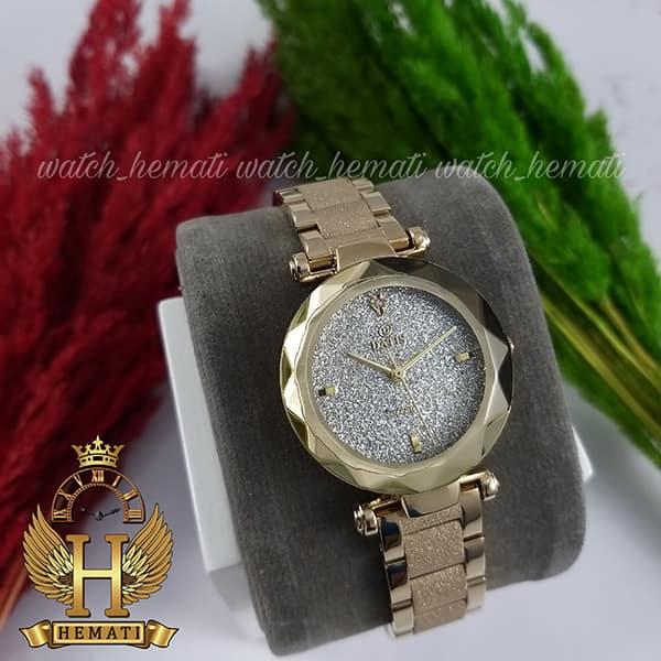 خرید ساعت مچی زنانه داتیس مدل DATIS D8435EL طلایی شنی