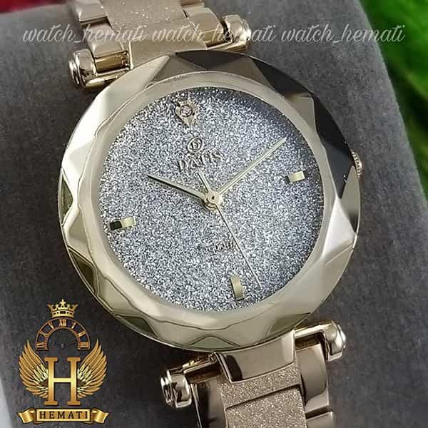 قیمت ساعت زنانه داتیس مدل DATIS D8435EL طلایی شنی