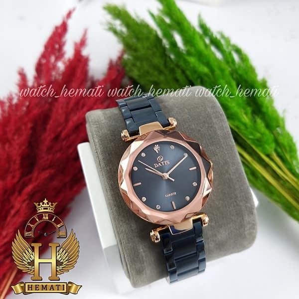 قیمت ساعت زنانه داتیس مدل DATIS D8435L سرمه ای رزگلد