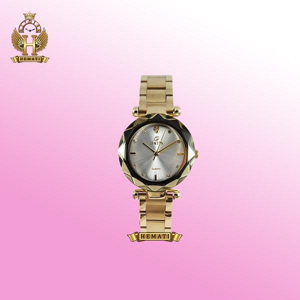 ساعت عقربه ای زنانه داتیس مدل D8435EL طلایی اورجینال