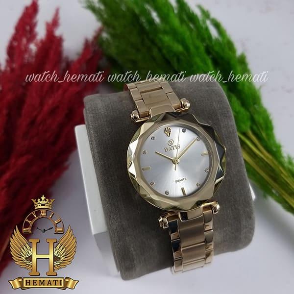 قیمت ساعت زنانه داتیس مدل DATIS D8435L طلایی