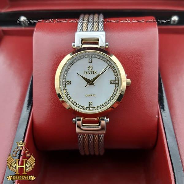 خرید ساعت زنانه داتیس رزگلد DATIS D8441L