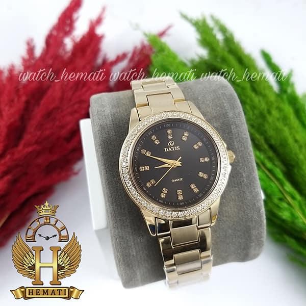 قیمت ساعت زنانه داتیس مدل DATIS D8443L طلایی شیشه کافی
