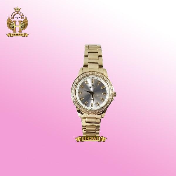 ساعت داتیس زنانه مدل D8443L طلایی با گارانتی
