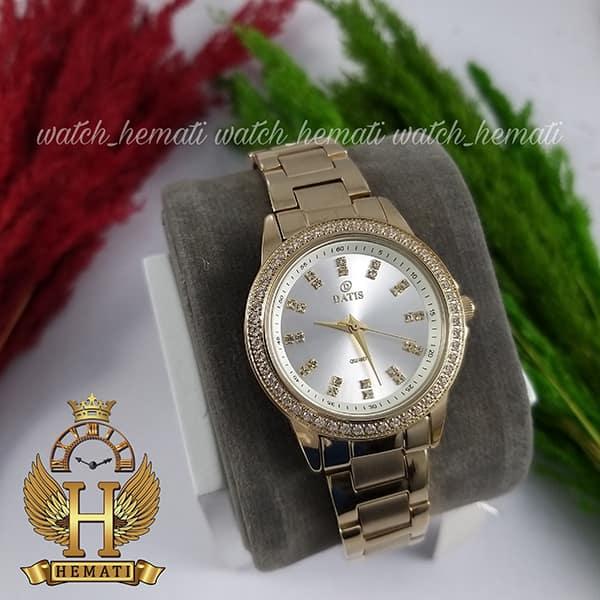 قیمت ساعت زنانه داتیس مدل DATIS D8443L طلایی