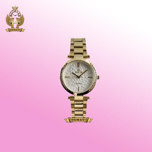 ساعت زنانه داتیس اورجینال مدل D8445L طلایی
