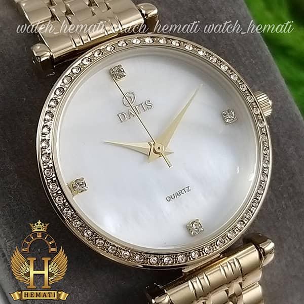 خرید اینترنتی ساعت زنانه داتیس اورجینال مدل DATIS D8456L طلایی