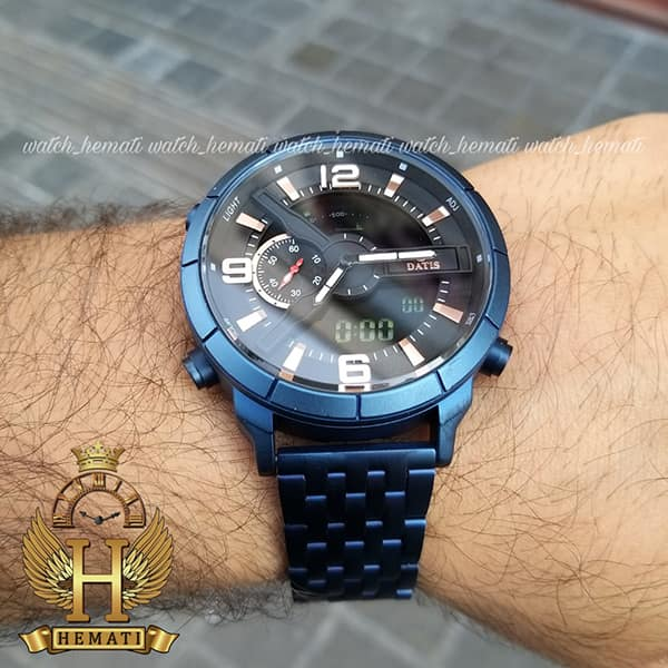 قیمت ساعت مردانه داتیس مدل D8465AG دوزمانه سرمه ای اورجینال