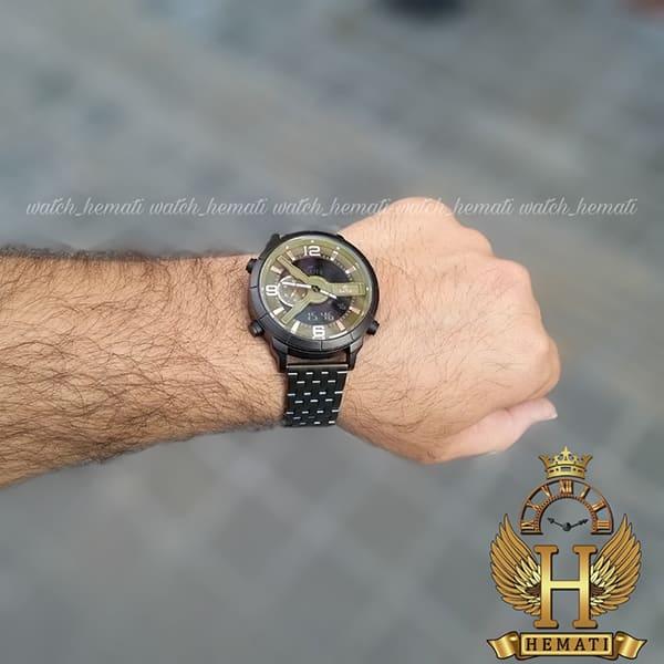 خرید آنلاین ساعت مردانه داتیس مدل Datis D8465AG دوزمانه سبز