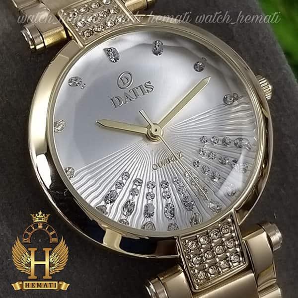 خرید انلاین ساعت زنانه داتیس عقربه ای مدل Datis D8465L طلایی