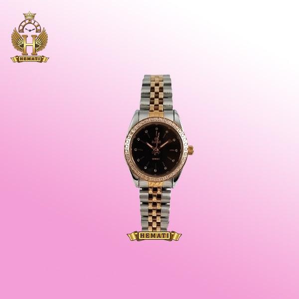 خرید ساعت زنانه داتیس مدل D8476L نقره ای رزگلد