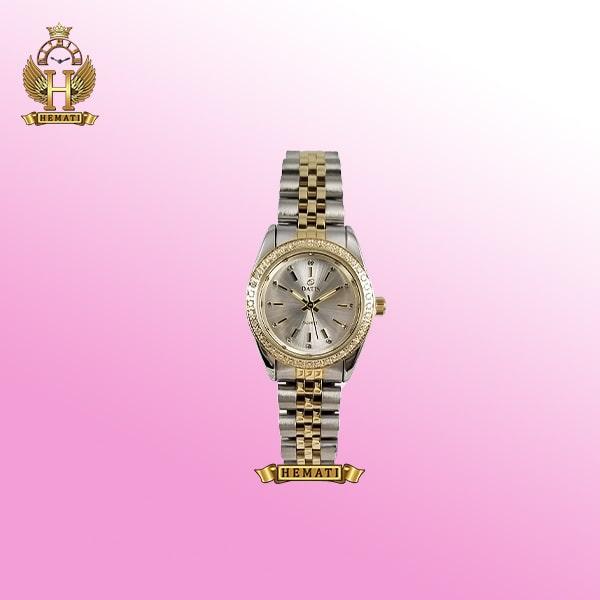 خرید ساعت مچی زنانه داتیس مدل Datis D8476L نقره ای طلایی