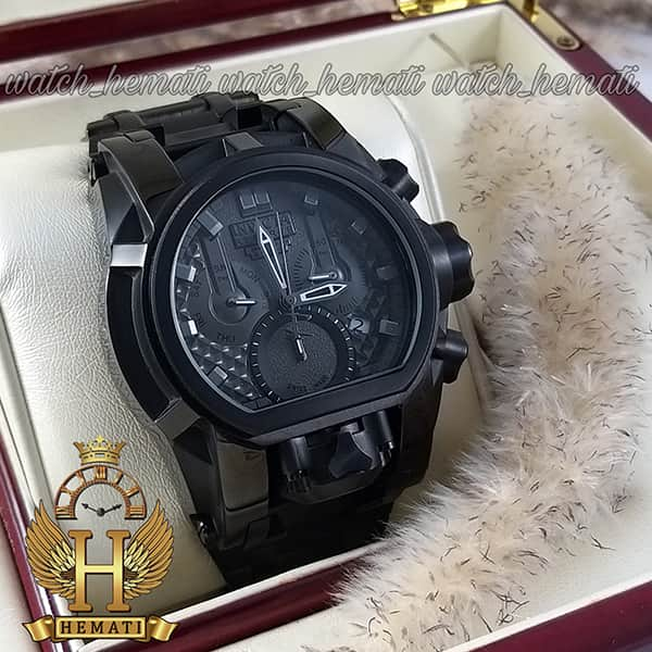 خرید آنلاین ساعت مچی مردانه اینویکتا بولت زئوس Invicta Bolt Zeus 20111 تمام مشکی