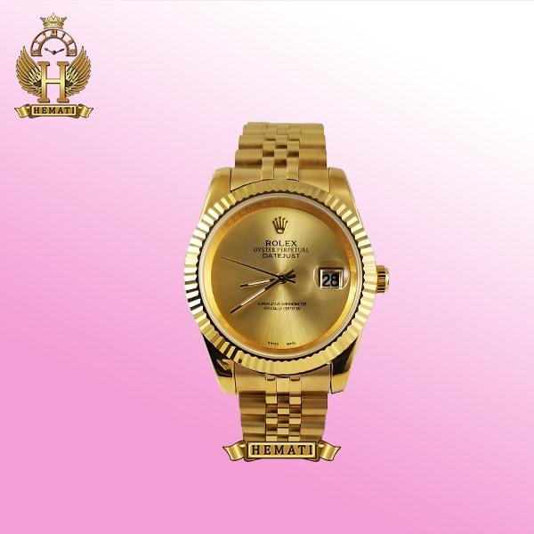 خرید ساعت رولکس مردانه دیت جاست 454 طلایی