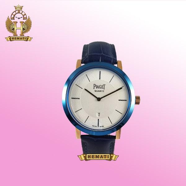 خرید ، قیمت ، مشخصات ساعت مردانه پیاژه کلاسیک رنگ سرمه ای و رزگلد