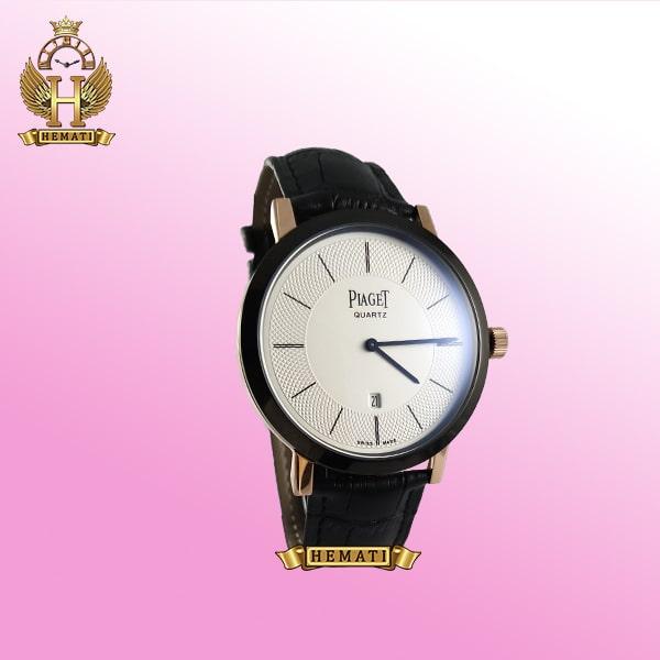 خرید ، قیمت ، مشخصات ساعت مردانه پیاژه کلاسیک رنگ مشکی و رزگلد