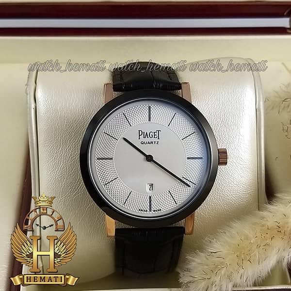 خرید انلاین ساعت مردانه پیاژه کلاسیک رنگ مشکی و رزگلد