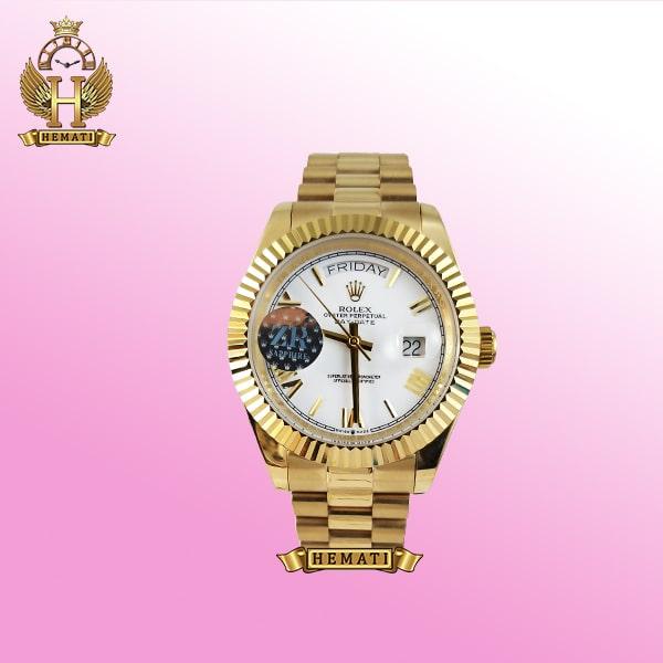 خرید ساعت رولکس مردانه دی دیت مدل day date dd22 طلایی موتور اتوماتیک