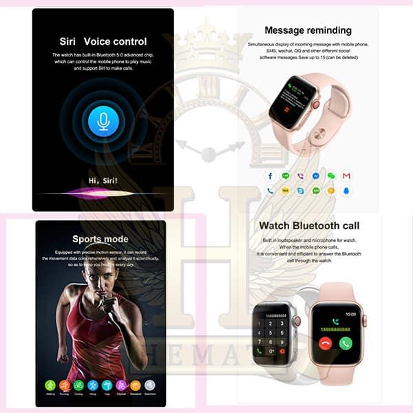 قیمت ساعت هوشمند مدل U68 مشکی Smart watch