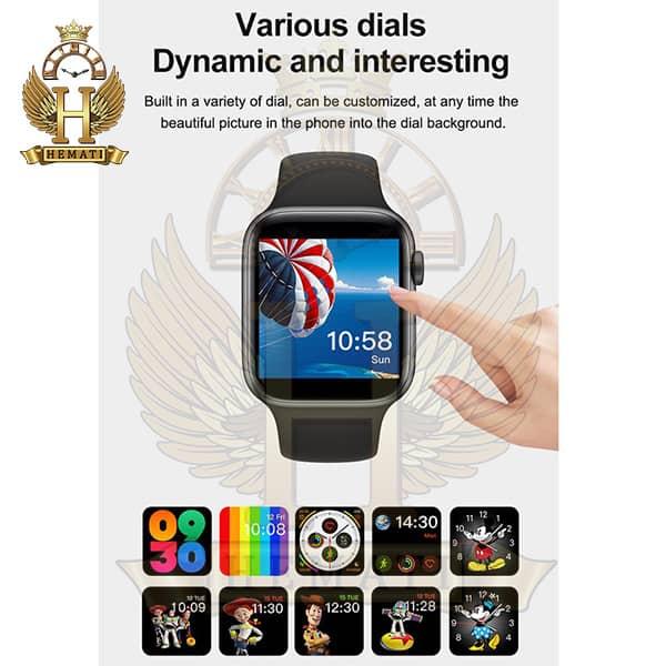 مشخصات ساعت هوشمند مدل U68 مشکی Smart watch