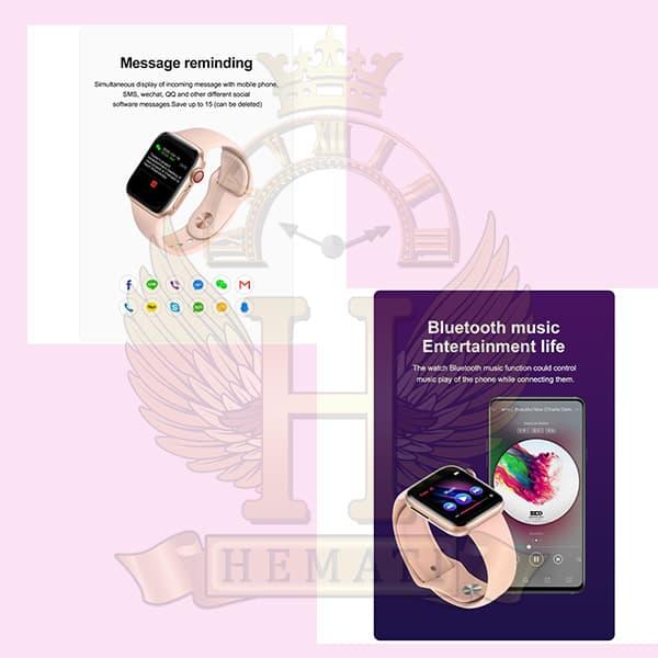 خرید ارزان ساعت هوشمند مدل U68 مشکی Smart watch