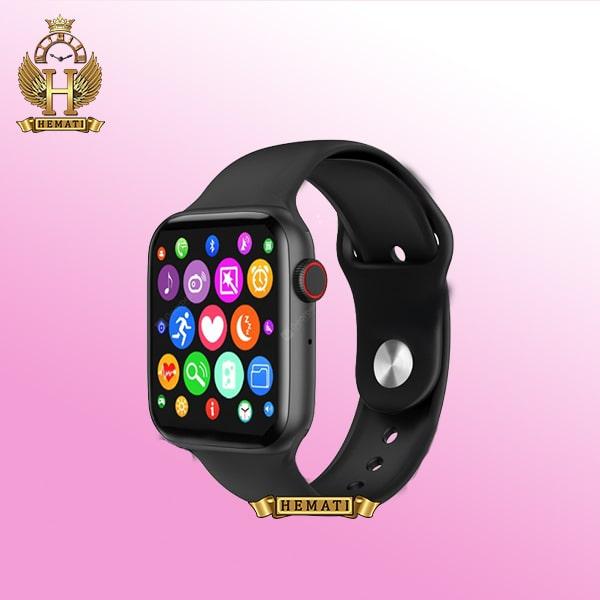 ساعت هوشمند W26 Plus رنگ مشکی صفحه مربعی