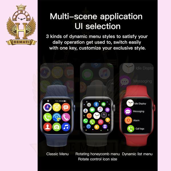 فروش ویژه ساعت هوشمند مدل X16 رنگ تمام مشکی