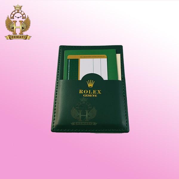 خرید اینترنتی جعبه ساعت رولکس اورجینال همراه دفترچه و کارت گارانتی