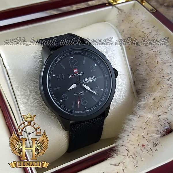 قیمت ساعت مردانه نیوی فورس مدل naviforce nf9101m تمام مشکی