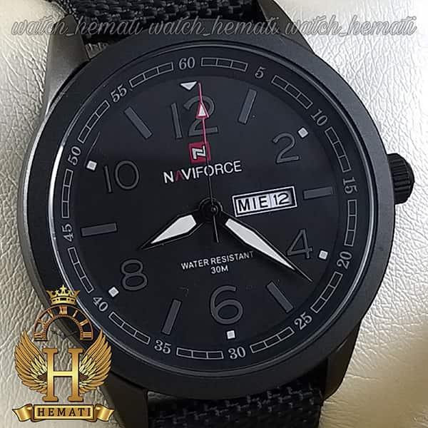 خرید ارزان ساعت مردانه نیوی فورس مدل naviforce nf9101m تمام مشکی