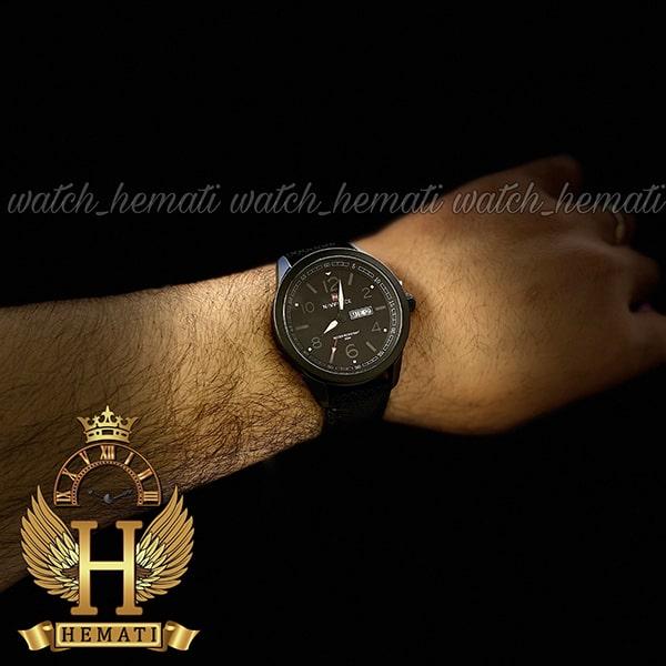 خرید اینترنتی ساعت مردانه نیوی فورس مدل naviforce nf9101m تمام مشکی