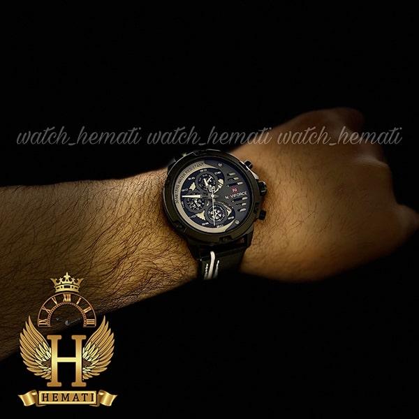 قیمت ساعت مچی مردانه نیوی فورس مدل naviforce nf9110m مشکی سفید