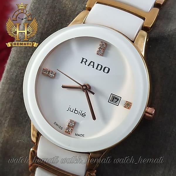 خرید اینترنتی ساعت زنانه رادو دیا استار Rado Diastar RDL102 سفید-رزگلد