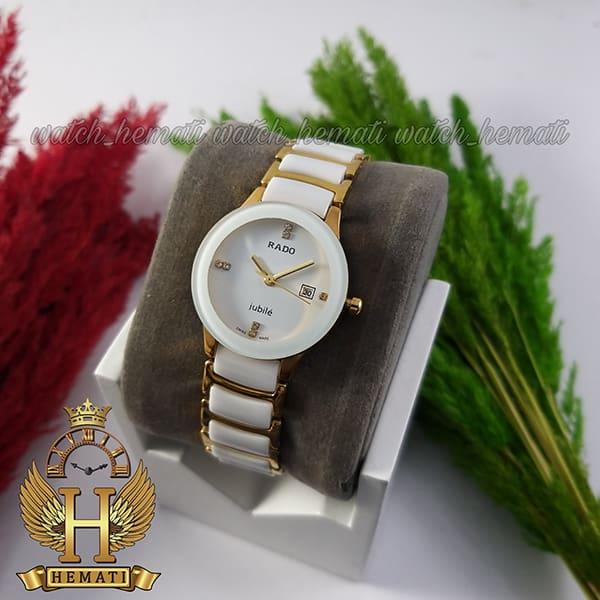 خرید اینترنتی ساعت زنانه رادو دیا استار جوبیل Rado Diastar Jubile RDL101 سفید-طلایی های کپی