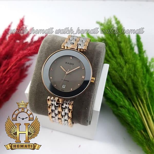 خرید ارزان ساعت زنانه رادو فلورانس Rado Florence RDFOL101 رنگ نقره ای-رزگلد