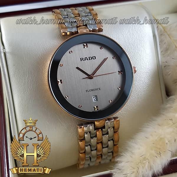 خرید اینترنتی ساعت رادو مردانه فلورانس Rado Florence RDFOM101 نقره ای-رزگلد ، کیفیت های کپی