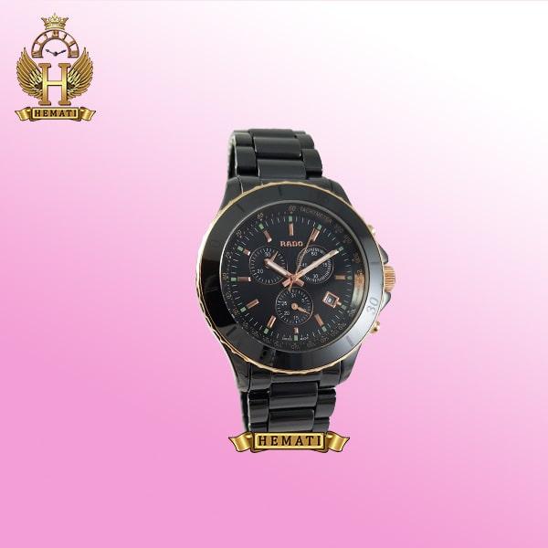 خرید ساعت مردانه رادو سرامیکی مشکی Rado 034G