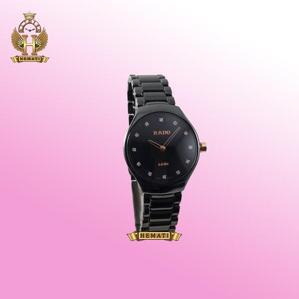 ساعت زنانه رادو جوبیل RADO jubile ceramic 6825L-2 مشکی