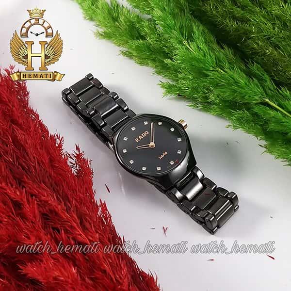 خرید اینترنتی ساعت زنانه رادو جوبیل RADO jubile ceramic 6825L-2 مشکی