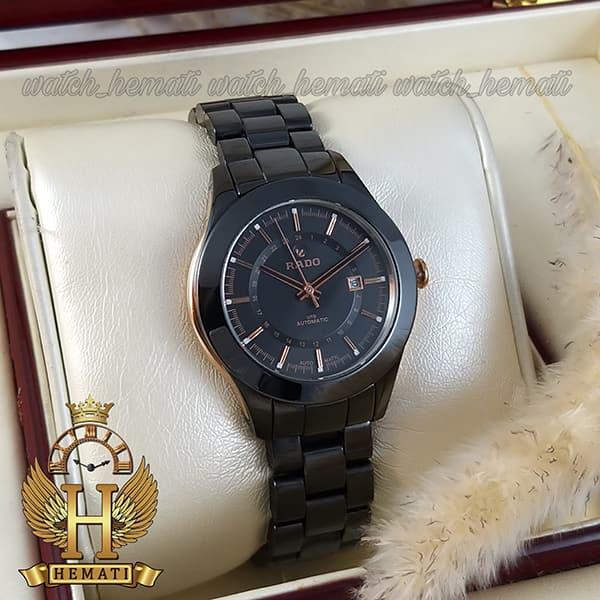 خرید ارزان ساعت زنانه رادو جوبیل Rado Jubile 1130L تمام مشکی سرامیک با رزگلد